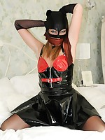 bound and gagged in nylons