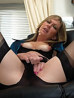 office boss flashes nylons and more